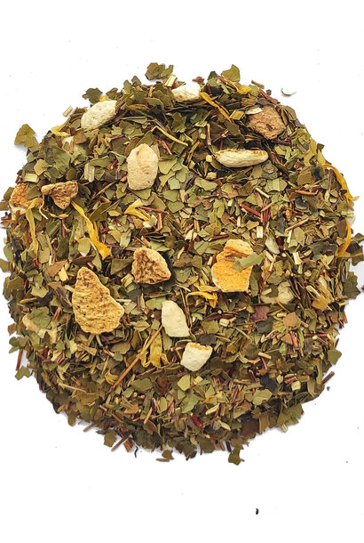 Maté Blutorange Tee mit natürlichem Aroma BIO