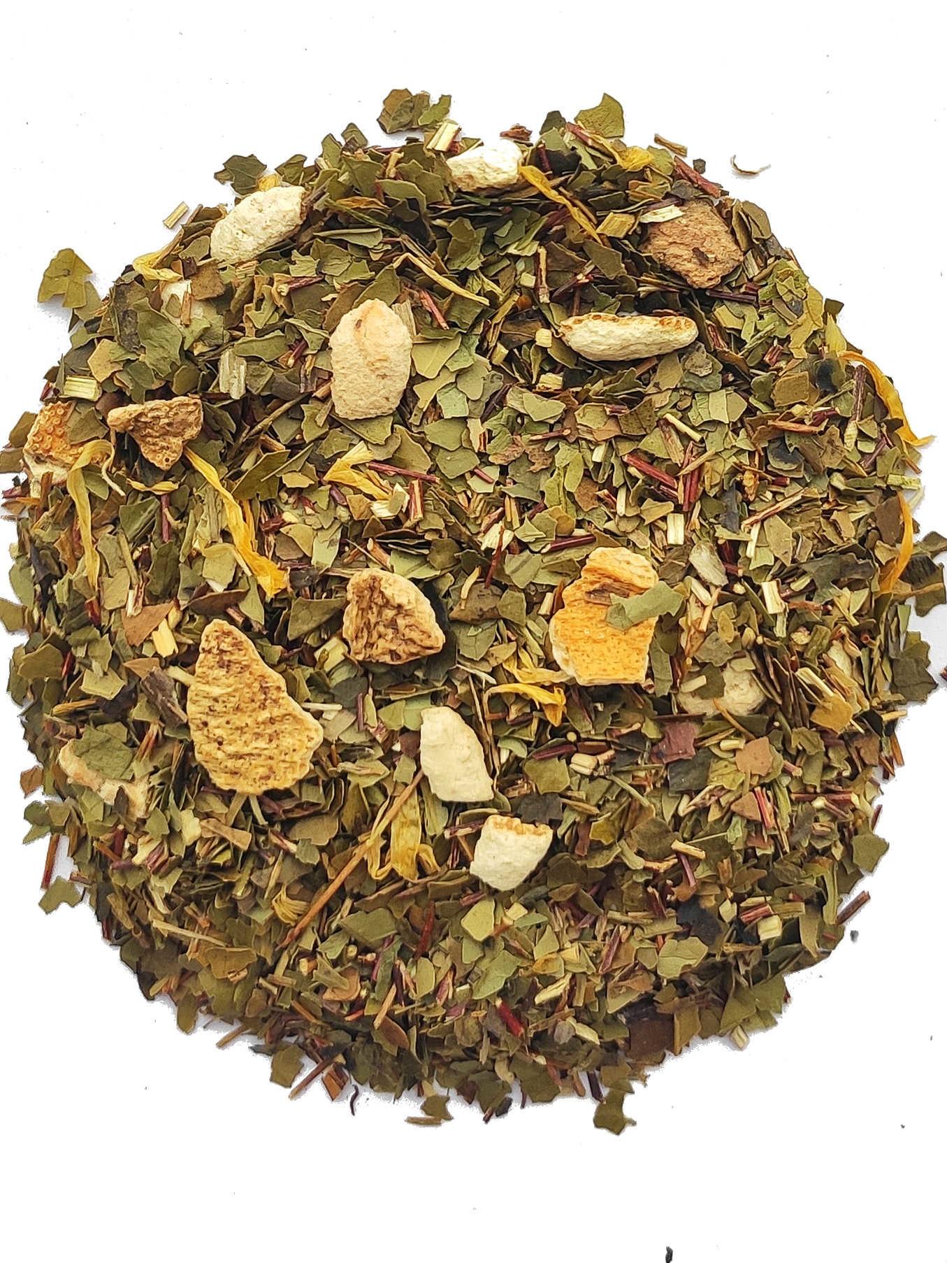 Maté Blutorange Tee mit natürlichem Aroma BIO-1