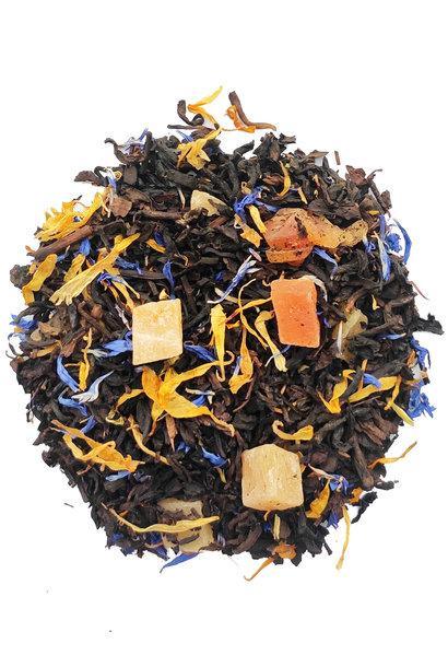 Pu Erh Mango und Passionsfrucht Tee mit natürlichem Aroma