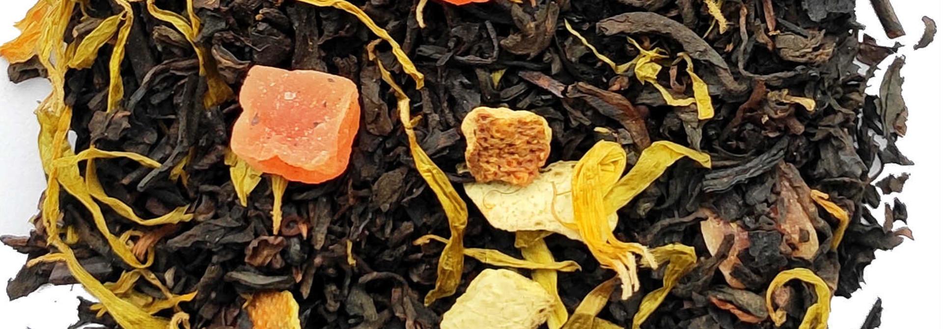 Pu Erh Pamplemousse-Orange Arôme Naturel