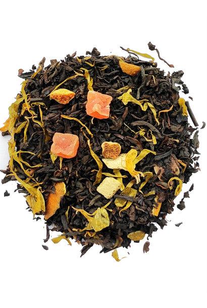 Puh Erd Tee Pampelmuse und Orange mit natürlichem Aroma