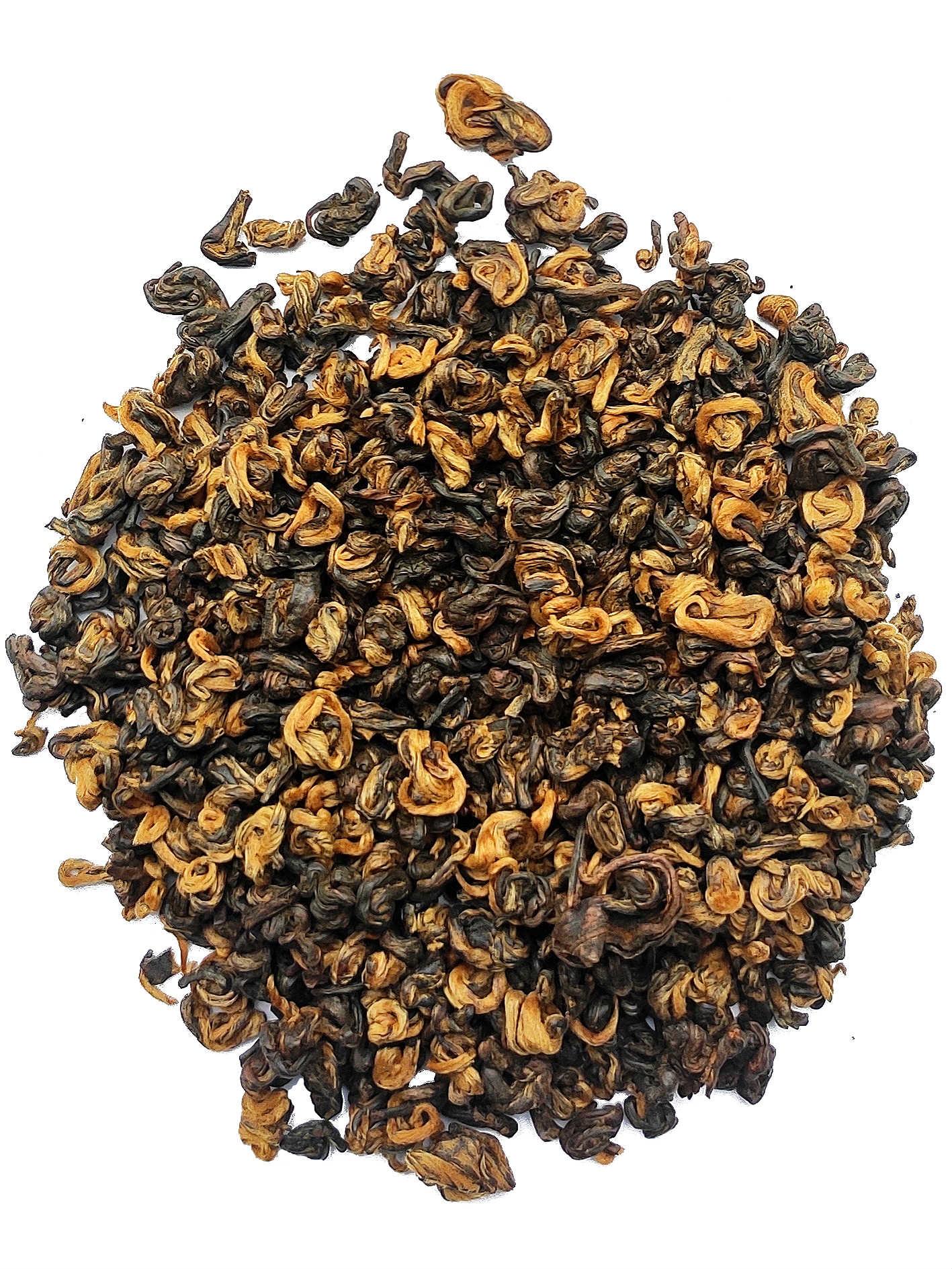 Zwarte thee China Golden Snail 1st Grade BIO-1