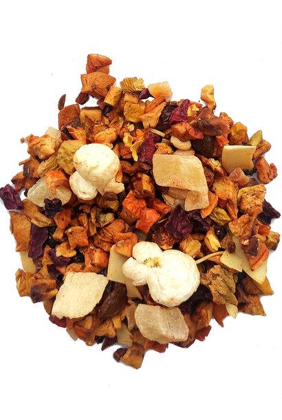 Mélange de fruits Amande-Popcorn