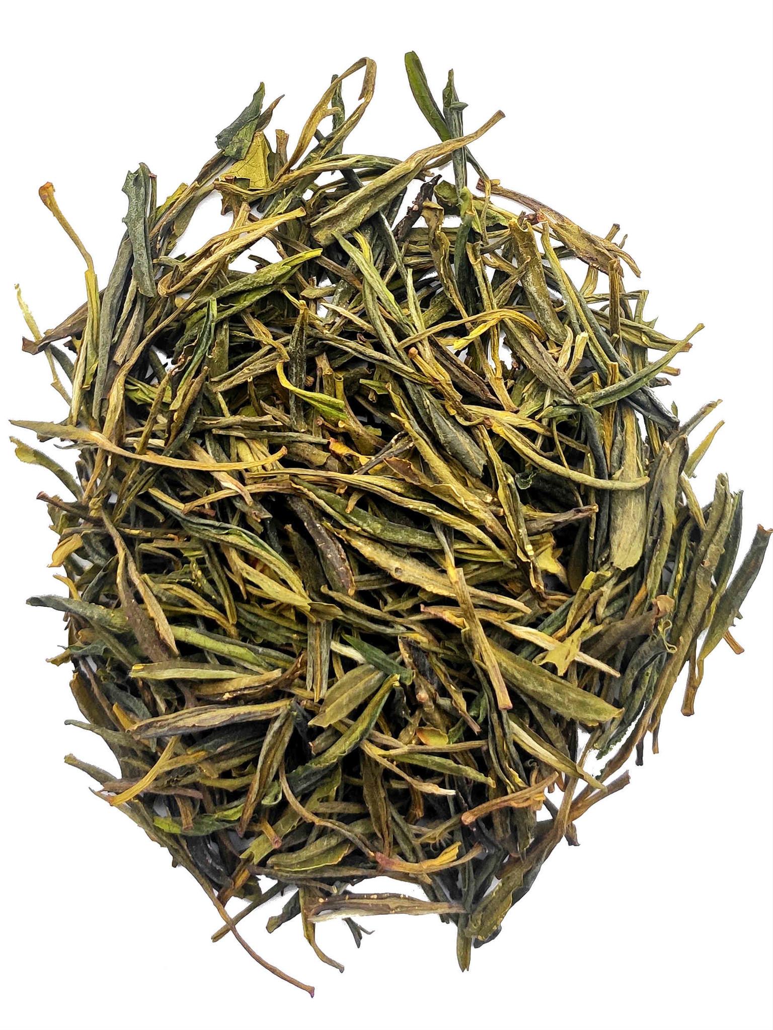 Thé jaune Huoshan Yellow Bud Spring 2020-1