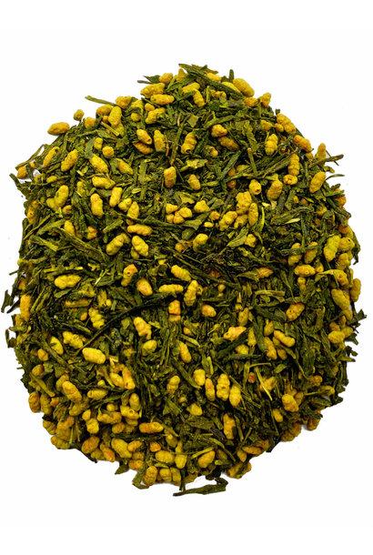 Grüner Tee Kagoshima Matcha Genmaicha First flush