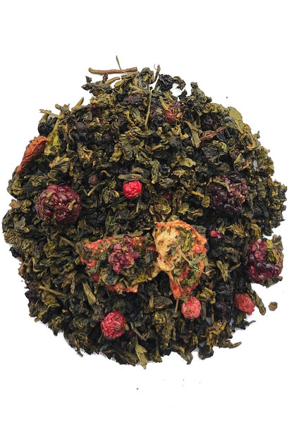 Thé Oolong mélanges de baies BIO