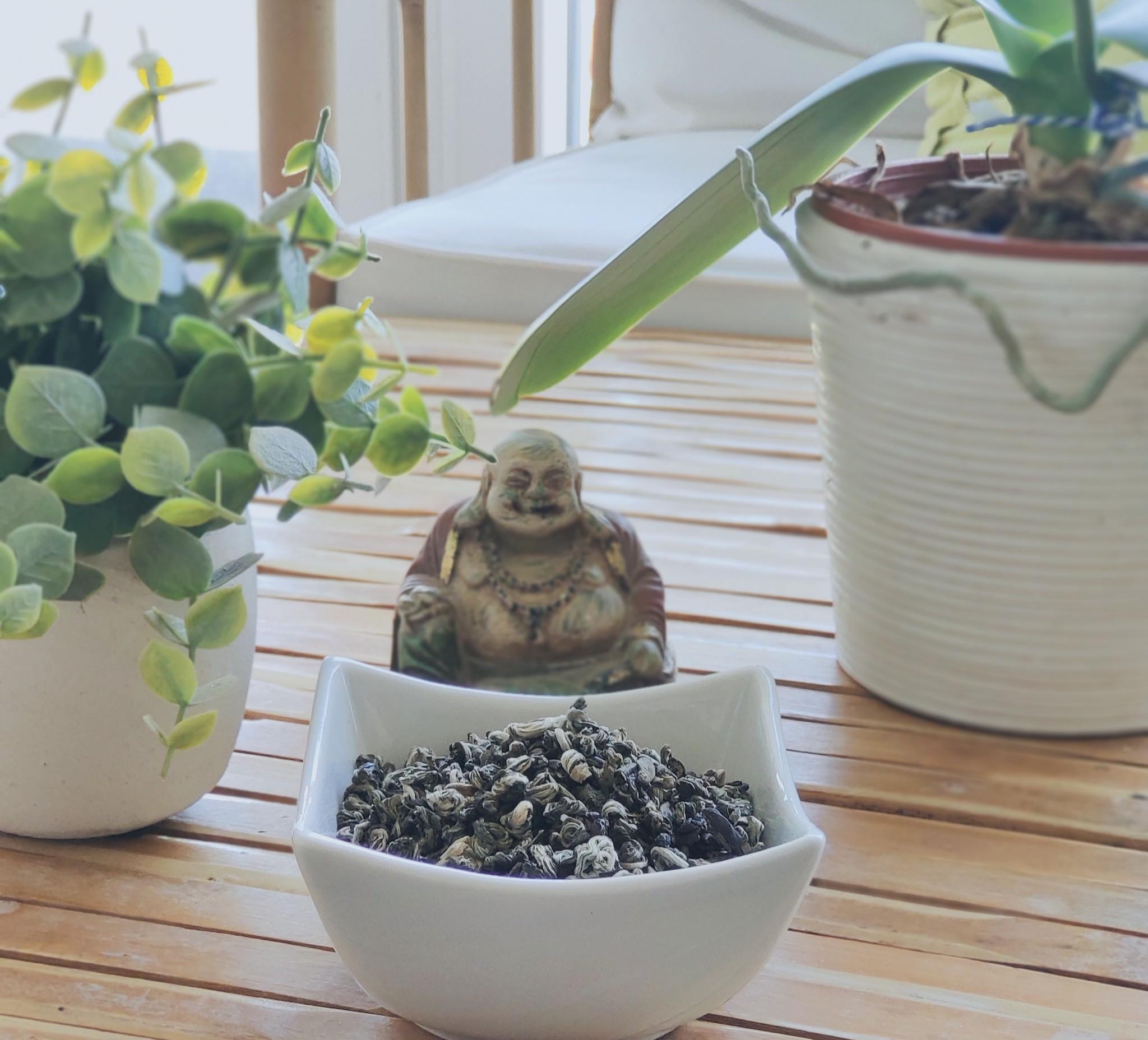 Grüner Tee Jade Snail-2