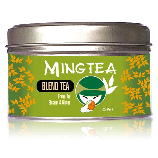Groene thee Ginseng & Gember-2