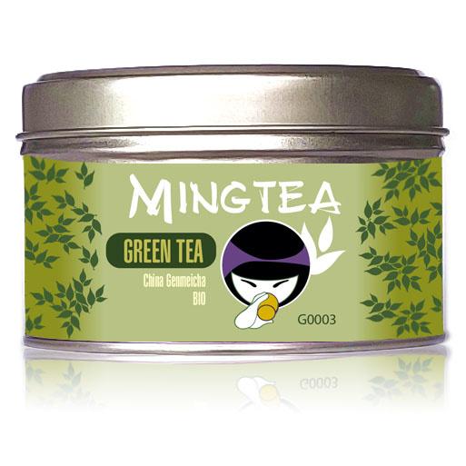 Grüner Tee Genmeicha BIO-2