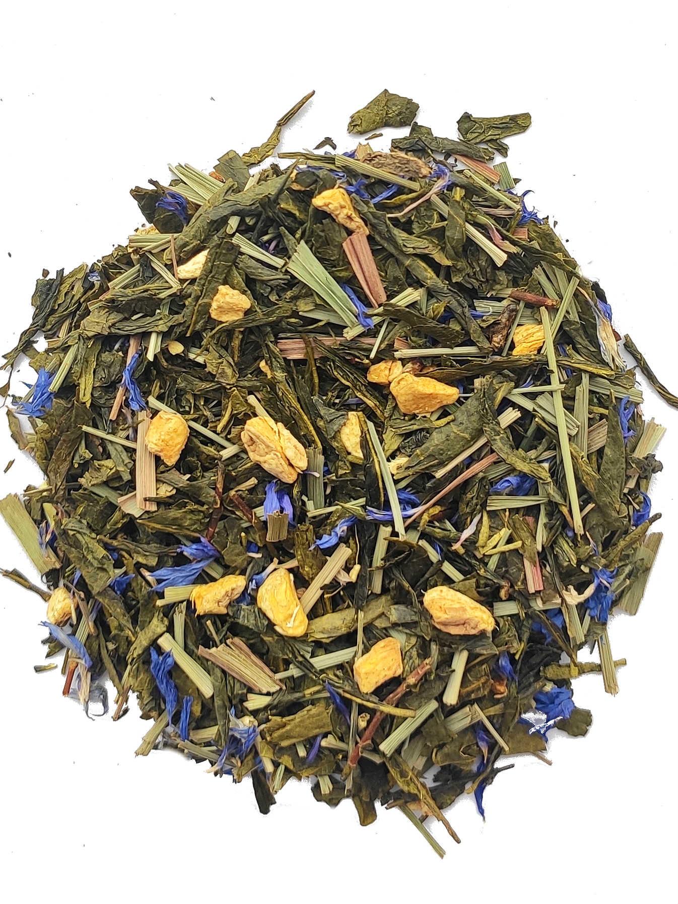 Groene thee Ginseng & Gember - 20 Piramide zakjes-2