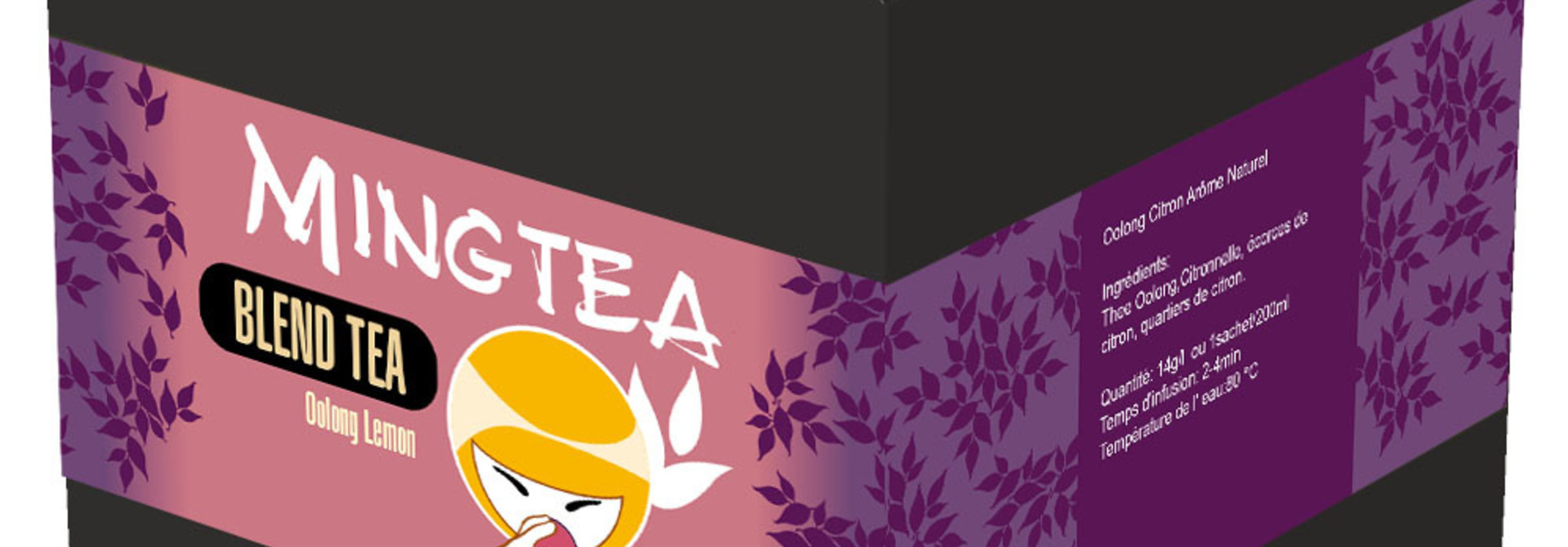 Oolong thee Citroen Natuurlijk Aroma - 20 Piramide zakjes