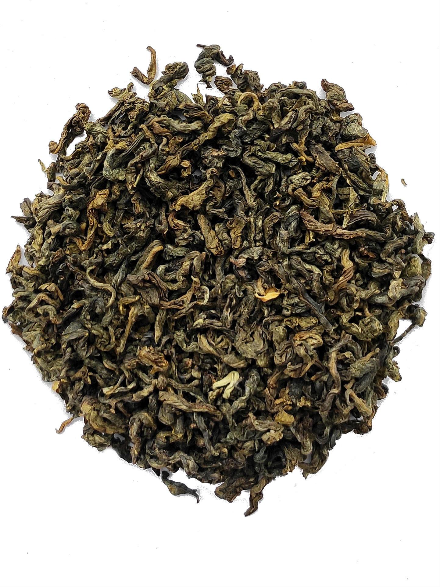 Groene thee Jasmine Pi Luo Chun  - 20 Piramide zakjes-2