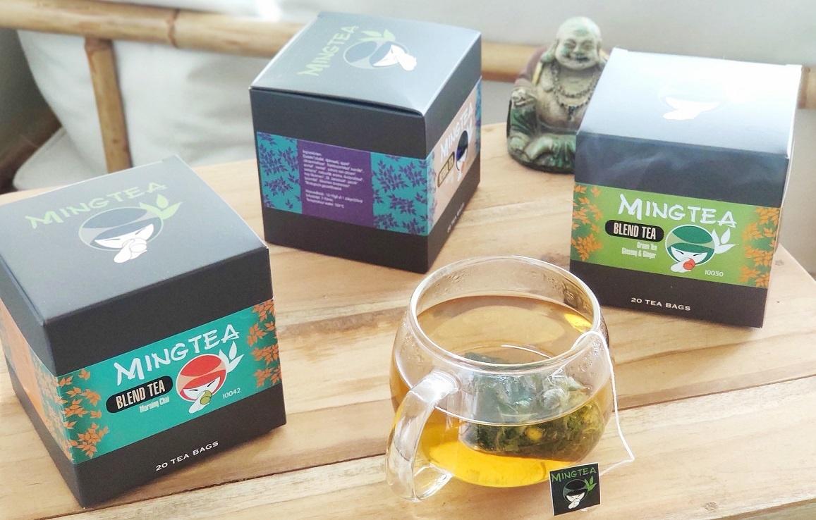 Groene thee Ginseng & Gember - 20 Piramide zakjes-3