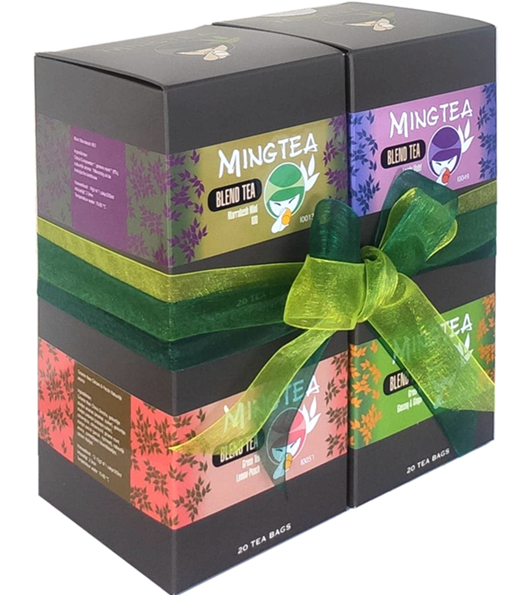 Mingtea Selection N°1 - 4 x 20 Sachets Pyramid-2