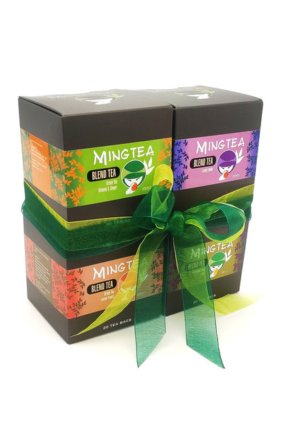 Mingtea Selection N°1 - 4 x 20 Sachets Pyramid