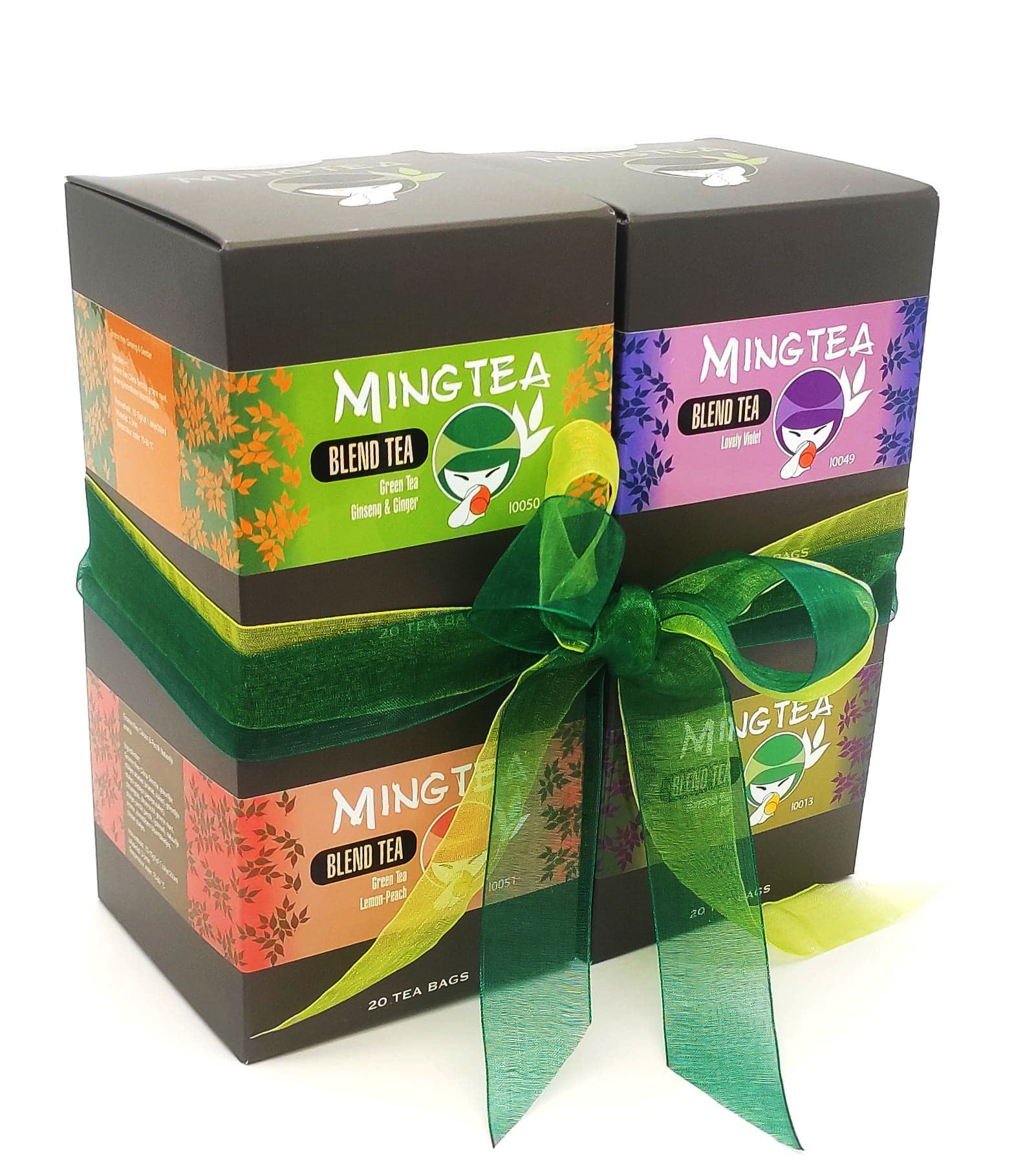 Mingtea Selection N°1 - 4 x 20 Sachets Pyramid-1