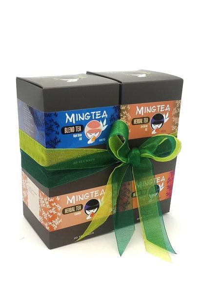 Mingtea Selection N°2 - 4 x  20 Pyramiden beutel