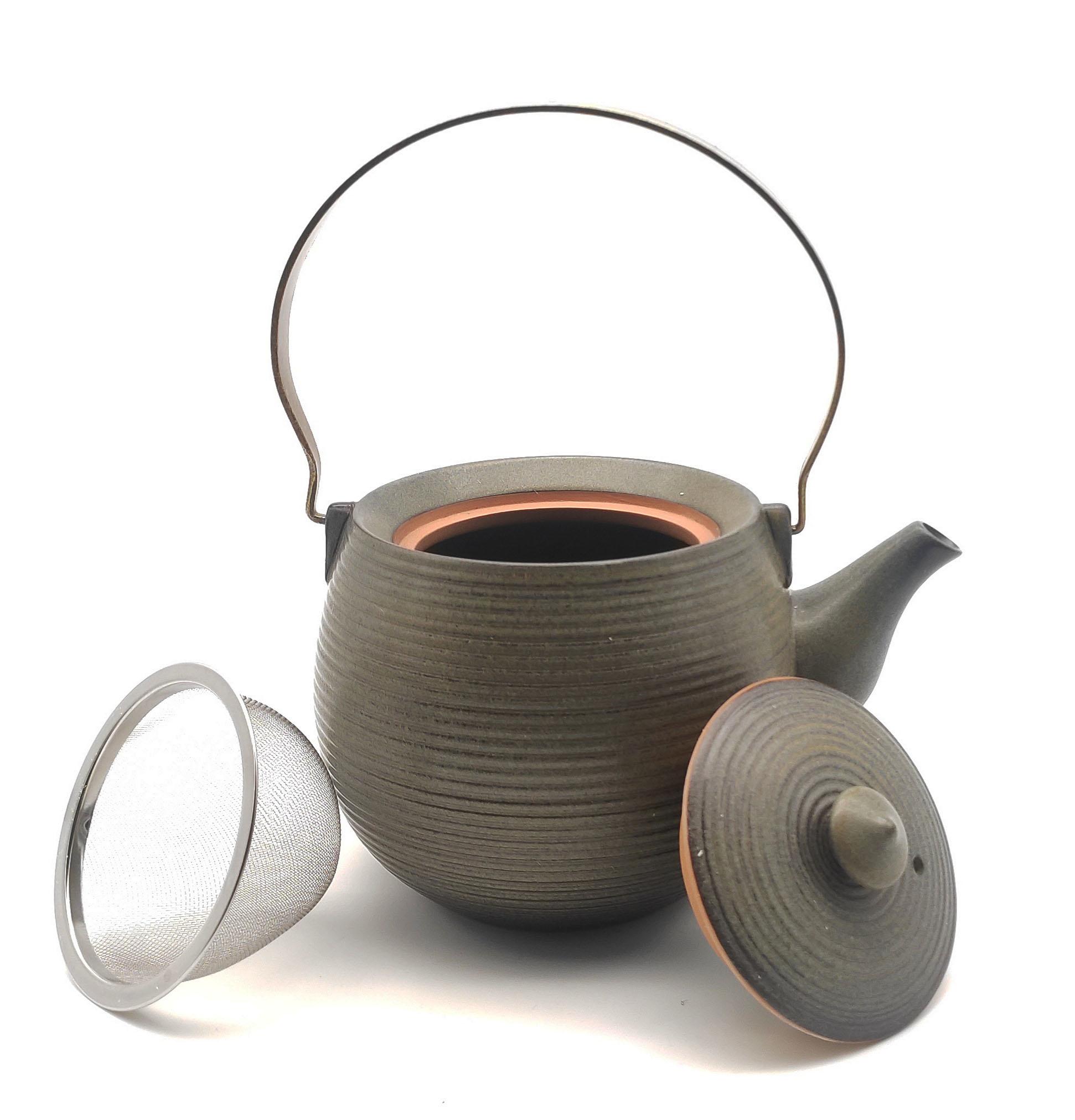 """"""" Sakura 1 """" Teekanne aus Prozellan für bis zu 700 ml-2"""