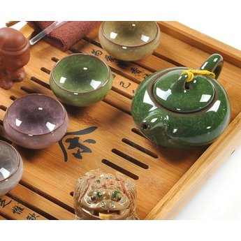 Complete Gong Fu Cha theeset