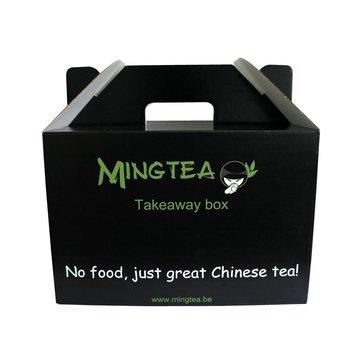 Emballage cadeau: Mingtea Takeaway box!