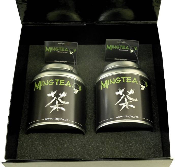 Mingtea Selection: Thé Vert Exclusif dans un Emballage de Luxe-1