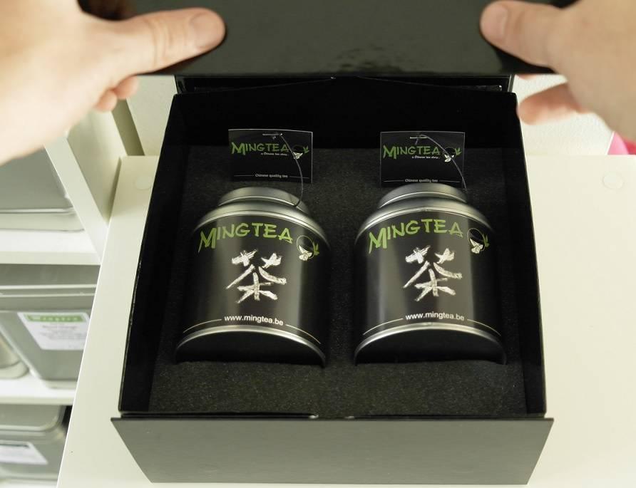 Mingtea Selection: Thé Vert Exclusif dans un Emballage de Luxe-3
