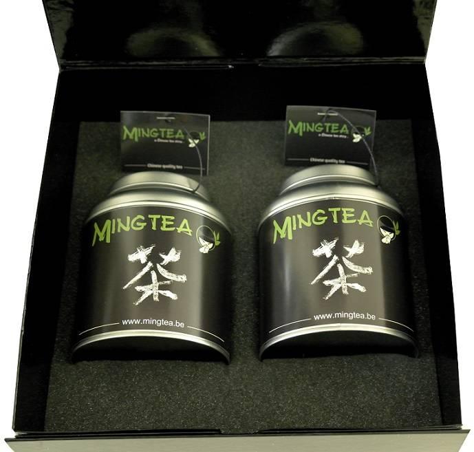 Mingtea Selection: Exclusieve Witte thee in Luxe Verpakking-1