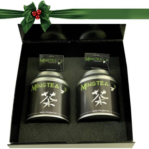 Mingtea Selection: Thé Vert Exclusif dans un Emballage de Luxe-2