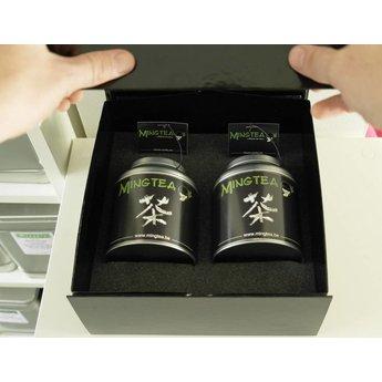 Mingtea Selection: Thé Noir Exclusif dans un Emballage de Luxe