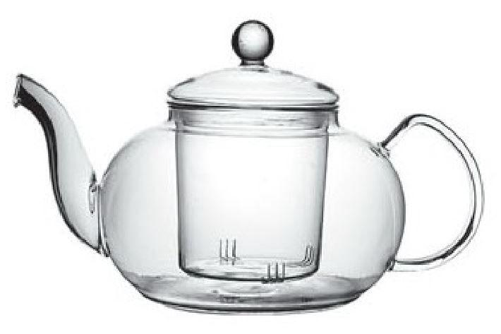 CHING CHA Glas Teekanne + Filter 1L-1