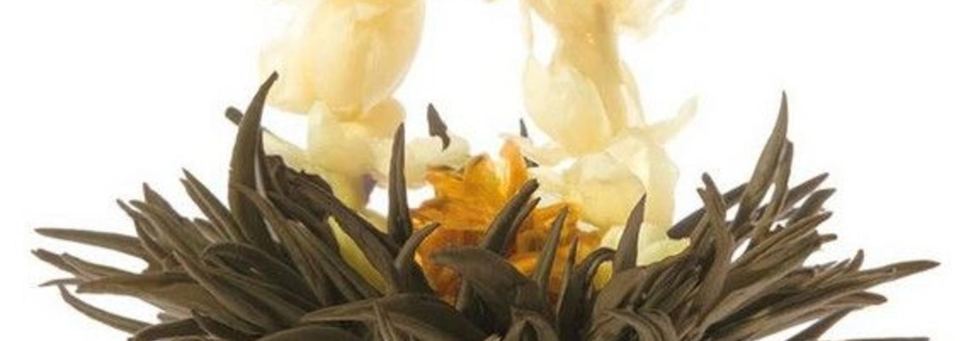 8 Flower Ring Theebloemen