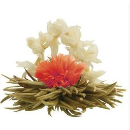 8 Lily basket theebloemen