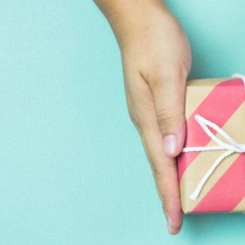 Cadeautje van een ondernemer voor een ondernemer