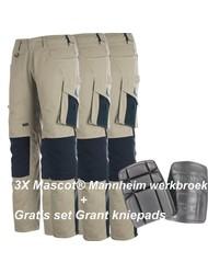 Mascot® Set 2 Mannheim Werkbroek tweekleurig