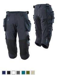 Mascot® Advanced 17049  Driekwart broek met kniezakken en Dyneema® afneembare spijkerzakken