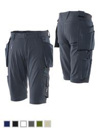Mascot® Advanced 17149  Korte strech werkbroek met afneembare CORDURA®-spijkerzakken, 4 way stretch, lichtgewicht
