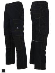 Mascot® Young 11279 Calvos Werkbroek zwart met kniezakken