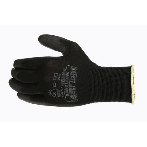 Safety Jogger® Multitask Naadloze Polyester handschoen met PU coating maten ( 8-M ) en ( 10-XL )