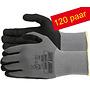 Safety Jogger® Allflex 120 Paar Nylon-spandex Liner met microfoamnitrile coating ( S ) t/m ( XXL )