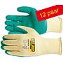 Safety Jogger® Constructor 12 Paar Katoen met Latex grip coating (8- M  ) en (10- XL )