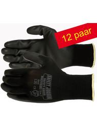 Safety Jogger® Multitask Naadloze Polyester handschoen met PU coating maten ( 8-M ) en ( 10-XL ) - Copy