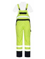 Mascot® Wels Signal Overtrektuinbroek hi-vis geel / marine
