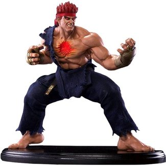 Pop Culture Shock Street Fighter IV Statue 1/4 Evil Ryu 42 cm