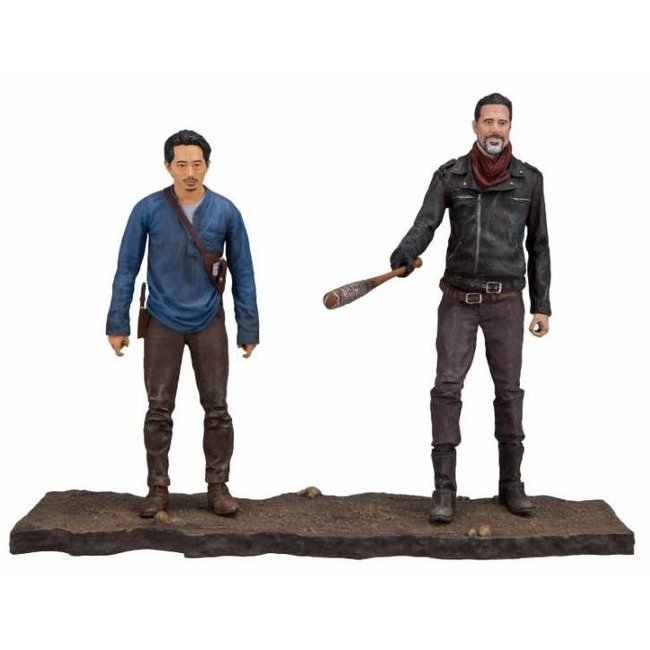 McFarlane The Walking Dead TV Version Action Figure 2-pack Negan & Glenn