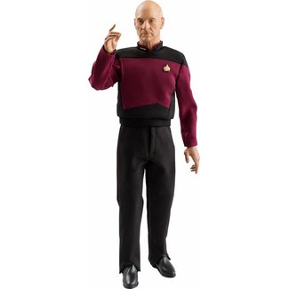 Quantum Mechanix Star Trek TNG Action Figure 1/6 Captain Jean-Luc Picard