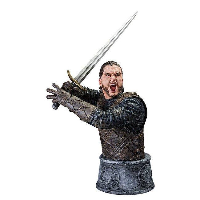 Dark Horse Comics Game of Thrones Jon Snow Büste Kampf des Bastards