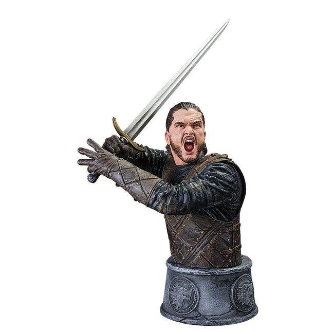 Game of Thrones Jon Snow Büste Kampf des Bastards 15 cm