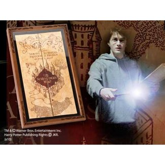 Noble Collection Harry Potter - Marauder's Map Display Case