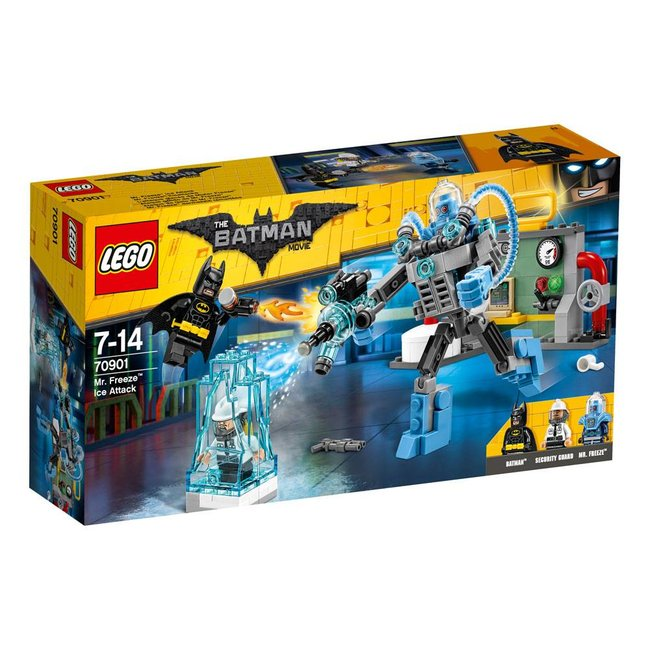 LEGO LEGO Batman Movie Mr. Freeze Ice Attack