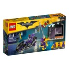LEGO Batman Movie Catwoman Catcycle achtervolging